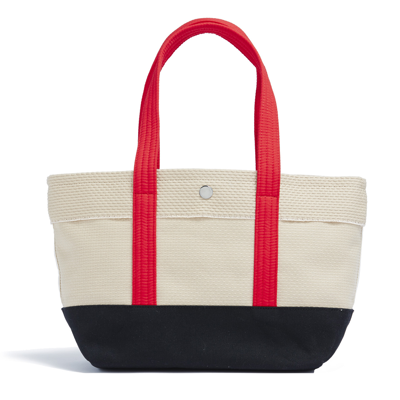 CaBas N°1 Tote small (Beige/Red)